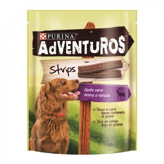 Purina Pro Plan -Adventuros Strips -Snacks y huesos