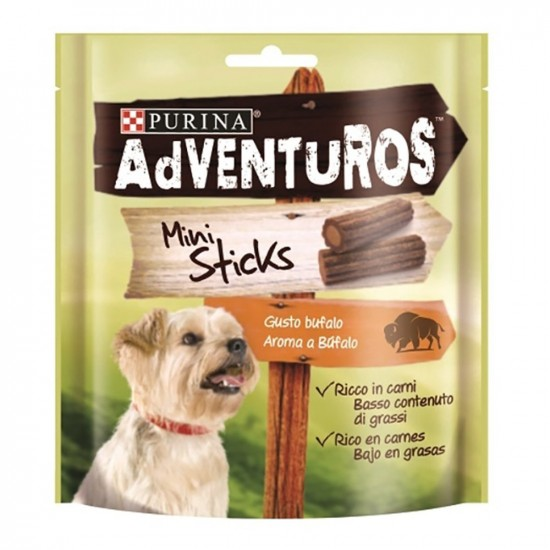 Purina Pro Plan -Adventuros Mini Sticks -Snacks y huesos