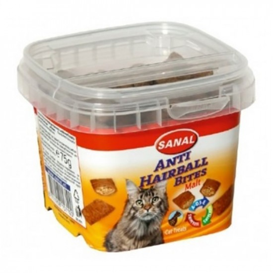 Sanal -Snack Anti-Hairball para Gato -Snacks