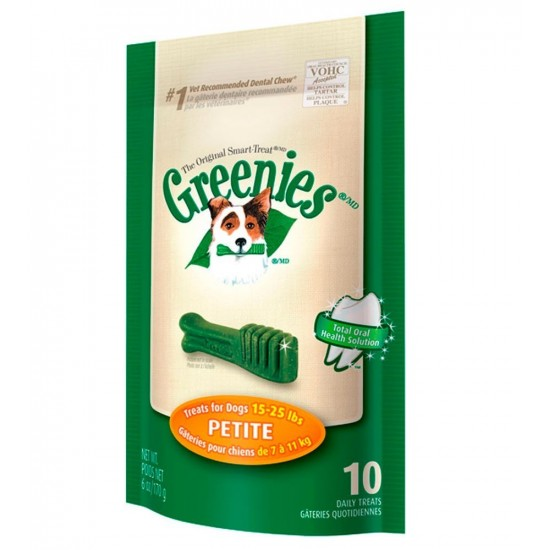 -Greenies Petite -Snacks y huesos