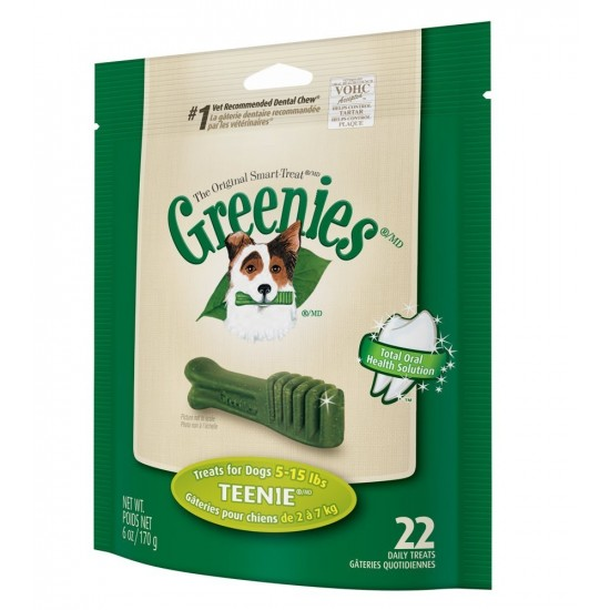 -Greenies Teenie -Snacks y huesos