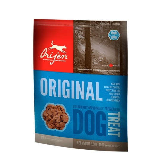 Orijen -Treats Original Snack natural Pollo y pavo -Perro