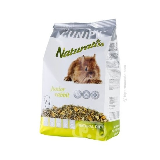 Cunipic Naturaliss conejo junior 1.36kg