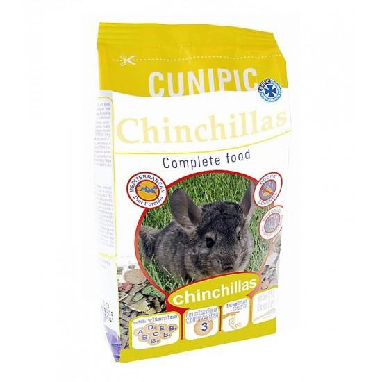 Cunipic complete food chinchillas