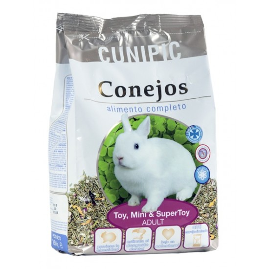 Cunipic alimento completo conejo Toy,Mini & Super Toy Adulto 2.5Kg