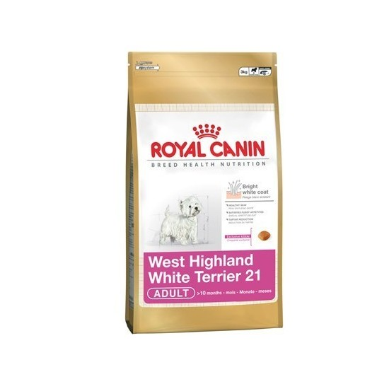 Royal Canin -Royal Canin West Highland White Terrier Adult -Perro