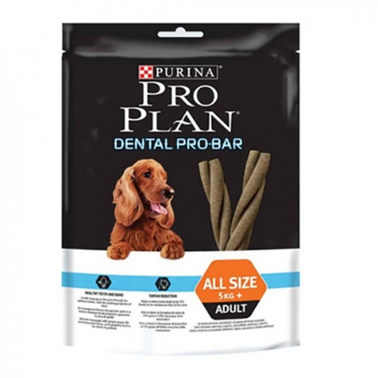 Purina Pro Plan -Biscuits Dental Pro Bar -Snacks y huesos