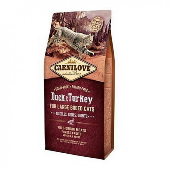 Carnilove -Adult Large Duck & Turkey Muscle & Bones & Joints -Pienso