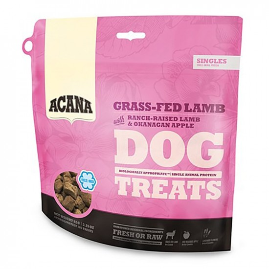 Acana -Snack Grass-Fed Lamb -Snacks y huesos