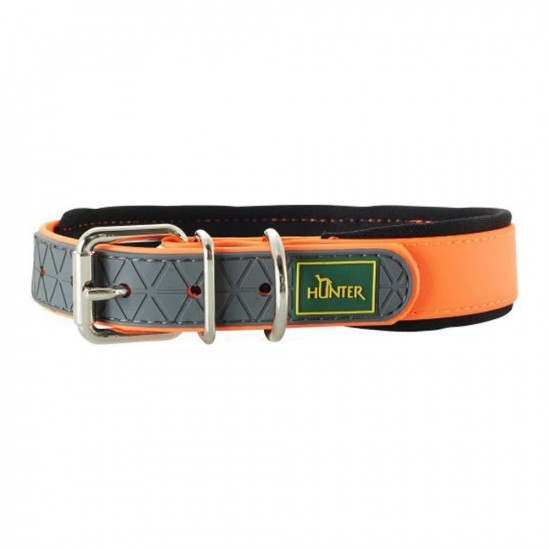 Hunter -Hunter Collar Convenience Naranja -Collares para perro
