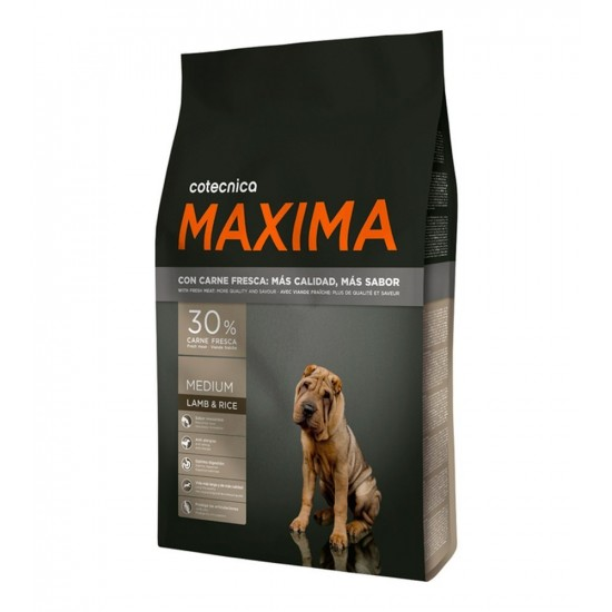 Maxima -All Breeds Cordero y Arroz -Pienso