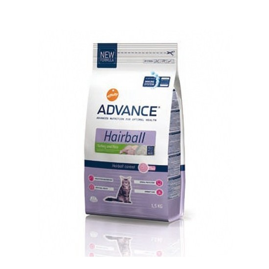 Affinity Advance -Advance Hairball Pavo y Arroz -Pienso