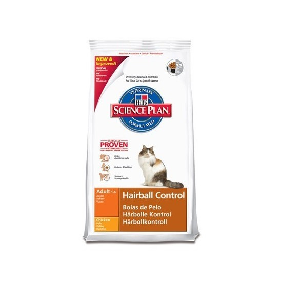 HILLS -Feline Hairball Control Adult -Pienso