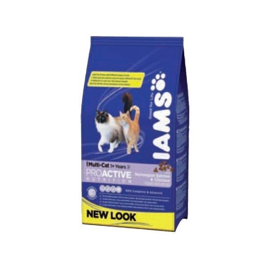Iams -Multi-cat -Pienso