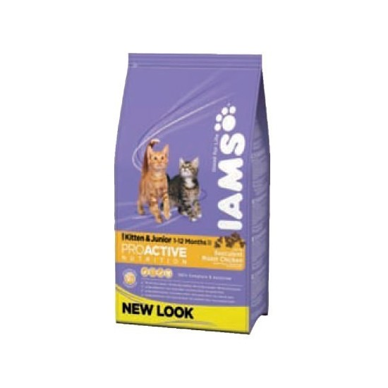 Iams -Iams Kitten & Junior -Pienso