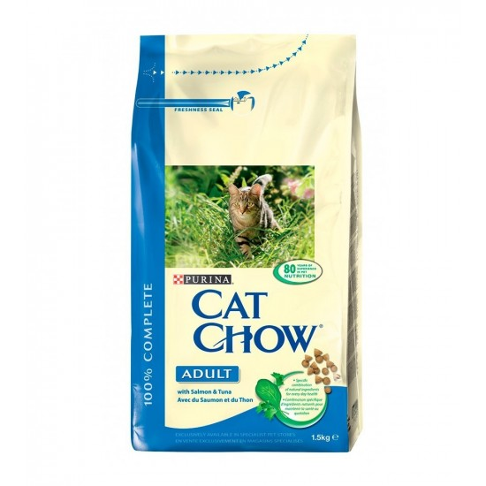 CatChow -CAT CHOW Adult Fish -Pienso
