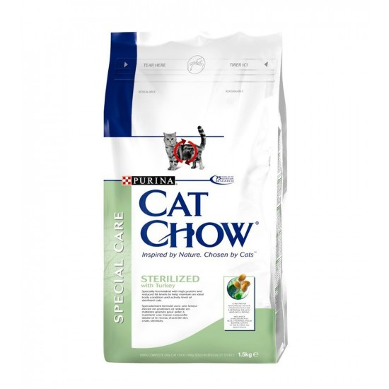 CatChow -CAT CHOW Sterilised -Pienso
