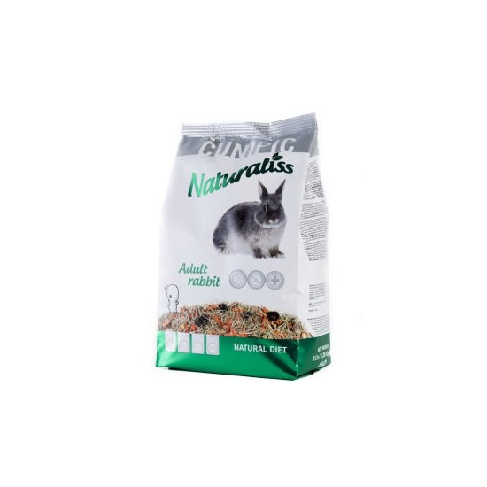 Cunipic Naturaliss conill adult 1.36kg