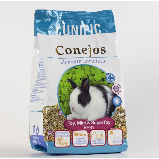 Cunipic Alimento Completo Toy,Mini & Super Toy Baby 2.5Kg