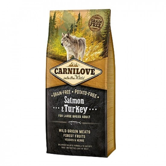 Carnilove -Carnilove Adult Large Fish&Turkey -Pienso