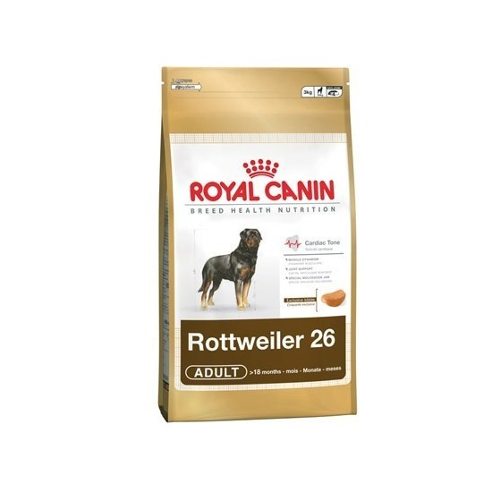 Royal Canin -Royal Canin Rottweiler Adult -Perro